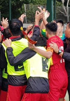 U16 Lào thắng sốc giúp U16 Việt Nam vào bán kết gặp Thái Lan