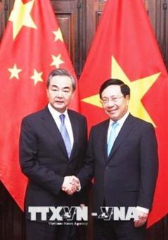 Hội đàm Bộ trưởng Bộ Ngoại giao Việt Nam - Trung Quốc