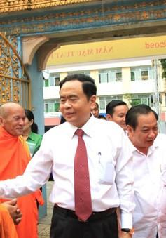 Chủ tịch MTTQ chúc Tết Chôl Chnăm Thmây đồng bào Khmer tại Cần Thơ
