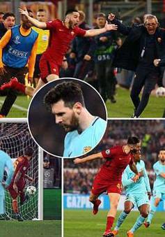 Messi im tiếng trong ngày Roma đi vào lịch sử