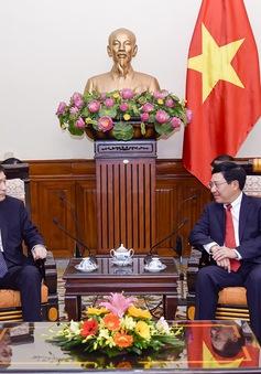 Phó Thủ tướng Phạm Bình Minh tiếp Đại sứ Hàn Quốc