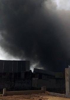 TP.HCM: Xưởng phế liệu cháy 2 lần trong 1 tháng
