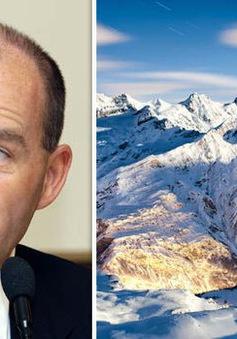 Tỷ phú Đức mất tích khi trượt tuyết trên dãy núi Alps