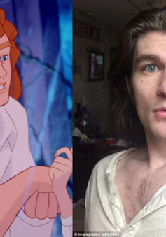 """Lột xác thành """"hoàng tử Disney"""" sau khi giảm 32 kg"""
