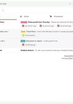 """Google chuẩn bị đưa một loạt thay đổi """"sốc"""" vào thiết kế của Gmail"""
