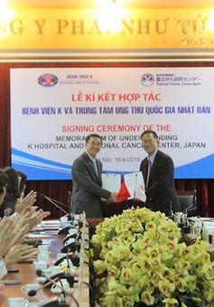 Bệnh viện K hợp tác với chuyên gia Nhật để điều trị các ca bệnh ung thư đặc biệt