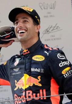 Đua xe F1: Daniel Ricciardo về nhất chặng đua tại Trung Quốc