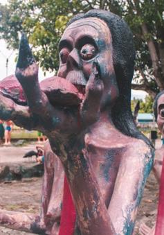 Khu vườn địa ngục ở Thái Lan hút khách du lịch