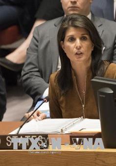 Mỹ chưa đưa ra biện pháp trừng phạt mới đối với Nga