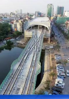 Phục vụ thi công ga ngầm S10, cấm hàng loạt phương tiện lưu thông trên phố Cát Linh