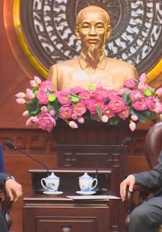 Bí thư Thành ủy TP.HCM Nguyễn Thiện Nhân tiếp Chủ tịch Quốc hội Iran