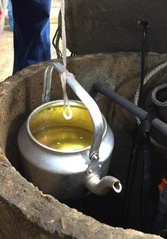 Xác định nguyên nhân giếng nước bị nhiễm dầu ở Hương Khê, Hà Tĩnh