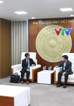 Phó TGĐ Đinh Đắc Vĩnh tiếp đại diện công ty Sony