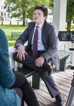 Mỹ: Cậu bé 13 tuổi tranh cử thống đốc bang