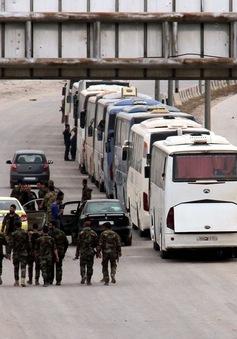 Syria đạt được thỏa thuận sơ tán các phiến quân ở Douma