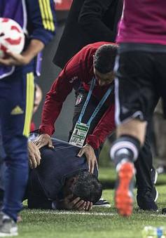 Đổ máu trong trận bán kết lượt về Cúp Quốc Gia Thổ Nhĩ Kì