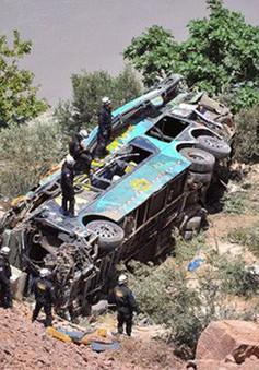 Tai nạn xe bus ở Peru, 2 người thiệt mạng