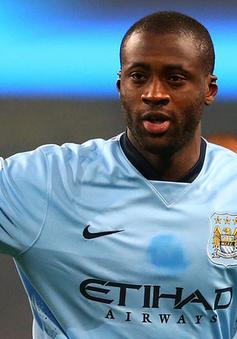 """Sắp """"ra rìa"""", Yaya Toure vẫn quyết tận hiến cho Man City"""