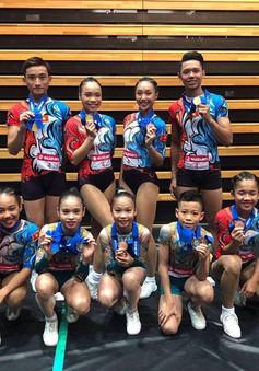 ĐT thể dục Aerobic Việt Nam thi đấu xuất sắc tại Cúp Thế giới ở Nhật Bản