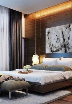 Ý tưởng trang trí phòng ngủ bằng đèn tuyệt đẹp