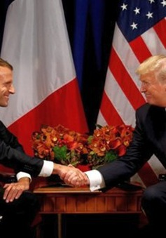 Mỹ, Pháp tìm đồng thuận về các vấn đề quốc tế