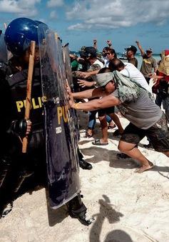 Philippines diễn tập trên đảo Boracay trước khi tạm đóng cửa