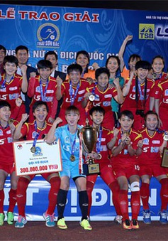 Đội vô địch Giải bóng đá nữ Vô địch Quốc gia có thể nhận được tiền thưởng 400 triệu đồng