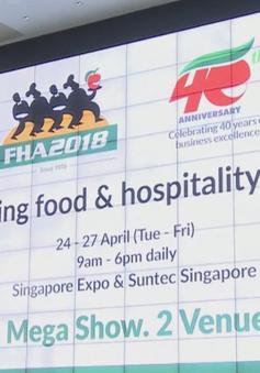4.000 doanh nghiệp tham gia hội chợ thực phẩm và khách sạn lớn nhất châu Á