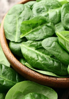 Rau chân vịt giúp giảm cảm giác thèm ăn và ngăn béo phì