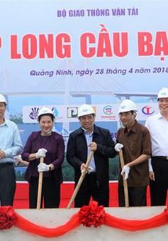 Hợp long cầu Bạch Đằng trị giá 7.300 tỷ đồng nối Hải Phòng với Quảng Ninh