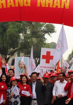 """Phát động """"Tháng Nhân đạo"""" - """"Chữ thập đỏ, vì mọi người, ở mọi nơi"""""""
