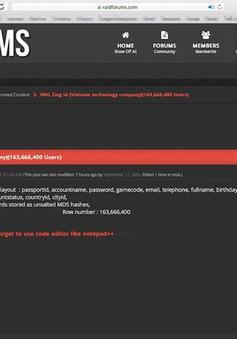 VNG phản hồi thông tin 160 triệu Zing ID bị rò rỉ trên diễn đàn nước ngoài