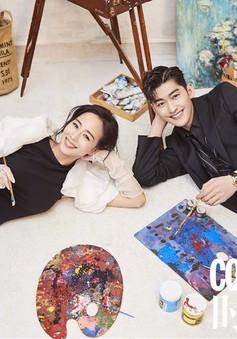Trương Hàn và Trương Quân Ninh quấn quýt trên tạp chí