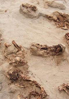 Phát hiện mộ hiến sinh trẻ em lớn nhất thế giới