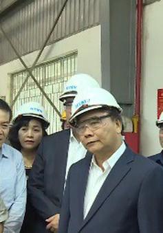 Thủ tướng thăm nhà máy ô tô Hyundai Thành Công