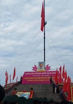 Quảng Trị tổ chức Lễ thượng cờ thống nhất non sông