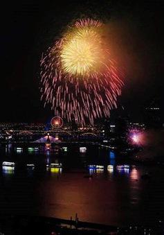 Khai mạc Lễ hội pháo hoa Quốc tế Đà Nẵng 2018: Bừng sáng những nhịp cầu Tình yêu