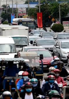 Nhiều tuyến quốc lộ ùn tắc nghiêm trọng