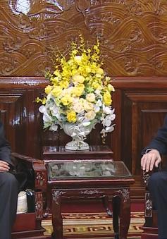 Chủ tịch nước Trần Đại Quang tiếp Đại sứ Thái Lan chào kết thúc nhiệm kỳ
