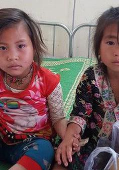 Cứu sống hai chị em gái người Mông ăn nhầm lá ngón