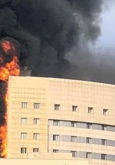 Cháy lớn ở bệnh viện tại Thổ Nhĩ Kỳ