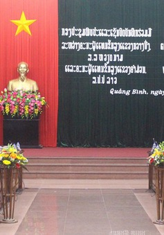 Tăng cường hợp tác giữa 2 tỉnh Quảng Bình và Khăm Muộn (Lào)