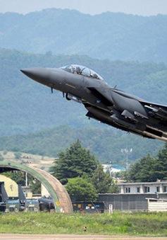 Rơi máy bay chiến đấu ở Hàn Quốc, 2 phi công thiệt mạng