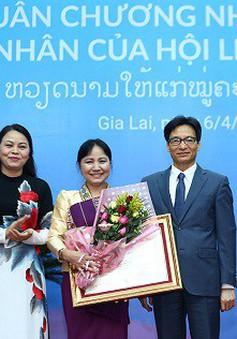 Trao tặng Huân chương Nhà nước Việt Nam, Lào cho phụ nữ hai nước
