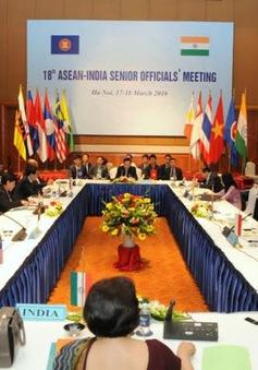 Các quan chức cao cấp ASEAN-Ấn Độ lần thứ 20 nhóm họp