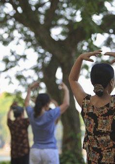 Thói quen tập thể dục buổi sáng của người Hà Nội