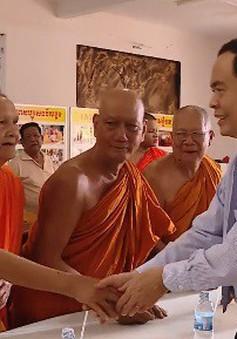 Ông Trần Thanh Mẫn chúc Tết Chôl Chnăm Thmây tại tỉnh Trà Vinh