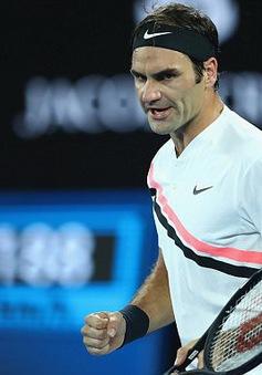Thắng nhanh Gasquet, Federer thẳng tiến vào vòng 4 Australia mở rộng 2018