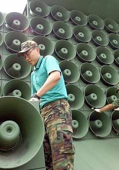 Hàn Quốc bắt đầu gỡ bỏ hệ thống loa tại biên giới
