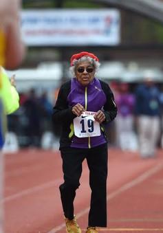 Cụ bà 102 tuổi lập kỷ lục chạy bộ